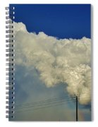 Dying Texas Supercell Spiral Notebook