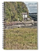 Dylan Thomas Boathouse At Laugharne 2 Spiral Notebook
