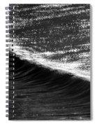 Dynamic Curve Spiral Notebook