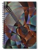 Dynamic Guitar Spiral Notebook