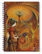 Dynamic Oriental Spiral Notebook