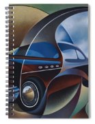 Dynamic Route 66 Spiral Notebook