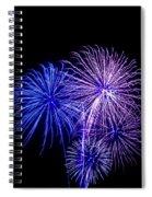 Radiant Hues Explode Spiral Notebook