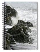Dyrholaey Surf Spiral Notebook