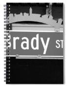 E Brady St Spiral Notebook