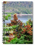 e e Cummings Quote Spiral Notebook