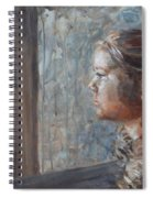 E In Sepia Tone Spiral Notebook