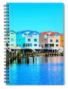 E Sea Living Spiral Notebook