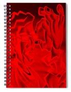 E Vincent Negative Red Spiral Notebook
