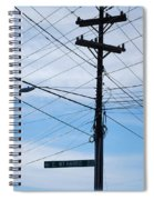 E Wt Harris Blvd - Charlotte Spiral Notebook