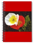 Eager Poppies Spiral Notebook