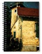 Eagle Bluff Light Spiral Notebook