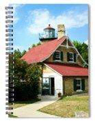 Eagle Bluff Lighthouse Spiral Notebook