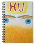 Eagle Eyes Of Love Spiral Notebook