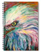 Eagle Fire Spiral Notebook