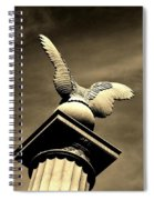 Eagle In Stone Spiral Notebook