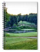 Eagle Knoll - Hole Fourteen From The Tees Spiral Notebook