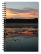 Eagle River Sunrise No.5 Spiral Notebook