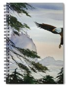Eagle Wilderness Spiral Notebook