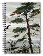 Eagles Eden Spiral Notebook