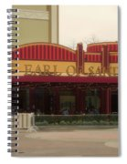 Earl Of Sandwich Downtown Disneyland Spiral Notebook