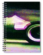 Early 60's F1 Racer Spiral Notebook