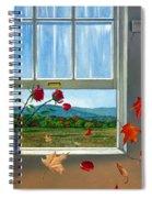 Early Autumn Breeze Spiral Notebook