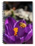 Early Bee Spiral Notebook