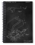 Early Computer Mouse Patent 1984 Spiral Notebook