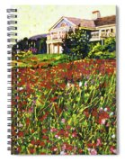 Early Evening At Cape Cod Spiral Notebook