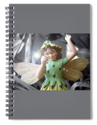 Early Evening Fairy Spiral Notebook
