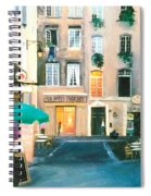 Early Evening In Paris Spiral Notebook