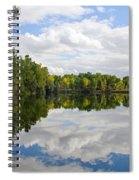 Early Fall Reflections Spiral Notebook