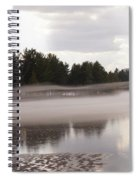 Early Fog Spiral Notebook