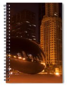 Early Hours In Chicago Spiral Notebook