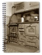 Early Kitchen With A Gas Stove 1920 Spiral Notebook