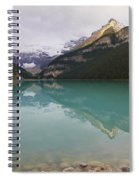Early Morning At Lake Louise Spiral Notebook