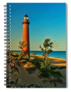 Early Morning At Little Sable Spiral Notebook