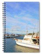 Early Morning At Maalaea Marina Spiral Notebook