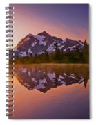 Early Morning At Picture Lake Spiral Notebook