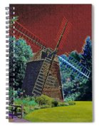 Early Morning At The Mill Spiral Notebook