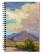 Early Morning At Thousand Palms Spiral Notebook