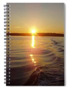 Early Morning Fishing Spiral Notebook