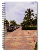 Early Morning In Miami Beach Spiral Notebook