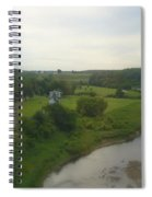 Early Morning In The Countryside Of Quebec Spiral Notebook