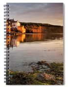 Early Morning Light On Robin Hoods Bay Spiral Notebook