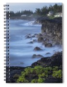 Early Morning Mist Spiral Notebook