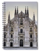 Early Morning On Il Duomo Spiral Notebook