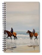 Early Morning Paddle Spiral Notebook