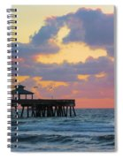 Early Morning Pier Spiral Notebook